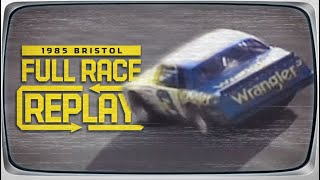 NASCAR Classic Full Race: 1985 Valleydale 500 from Bristol Motor Speedway