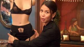 How To Put On A Garter Belt.