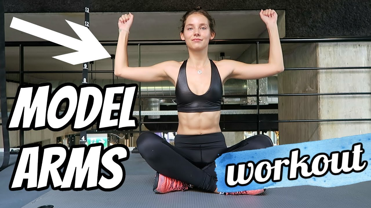 Arms model workout