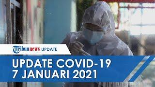 Update Covid-19 7 Januari: Pecah Rekor Lagi, Kasus Baru di Indonesia Tembus 9.000