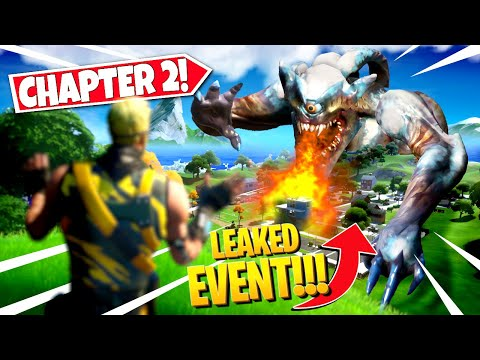 new chapter 2 ending event leaked in fortnite season finale all details leaks