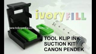 Refill Tool Kit Penyedot sedot tinta Cartridge HP 801 802