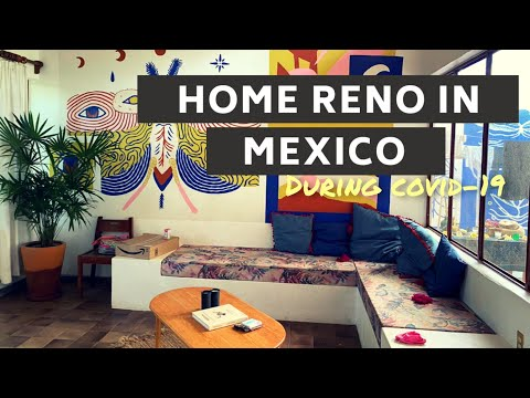 UPGRADED MY BATHROOM IN MEXICO FOR UNDER $100 - COVID-19 TIGHT AS BUDGET
