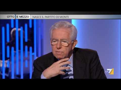 Mario Monti a Otto e Mezzo