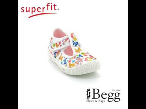 Superfit Bully 00264-51 White multi first shoes