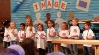 Josaphine Spring choir concert 2017 5 yrs old(4)