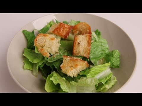 Homemade Caesar Salad Recipe – Laura Vitale – Laura in the Kitchen Episode 336