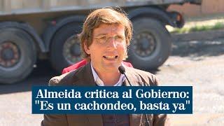 """Almeida critica al Gobierno tras el fin del estado de alarma: """"Es un cachondeo, basta ya"""""""