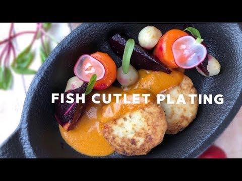Как подать рыбные котлеты🐠 Меню ресторана Mozaik 🐠  Смотрите, как мы готовим для вас