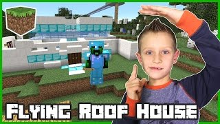 Flying Roof House  Minecraft
