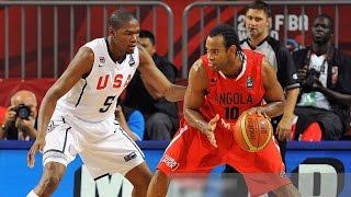 USA vs Angola 2010 FIBA World Basketball Championship Top 16 Round FULL GAME English