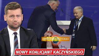 SE NOWY KOALICJANT Kaczyńskiego! Bortniczuk STANOWCZO: Będziemy NEGOCJOWAĆ umowę! Gowin okaże się NAGI
