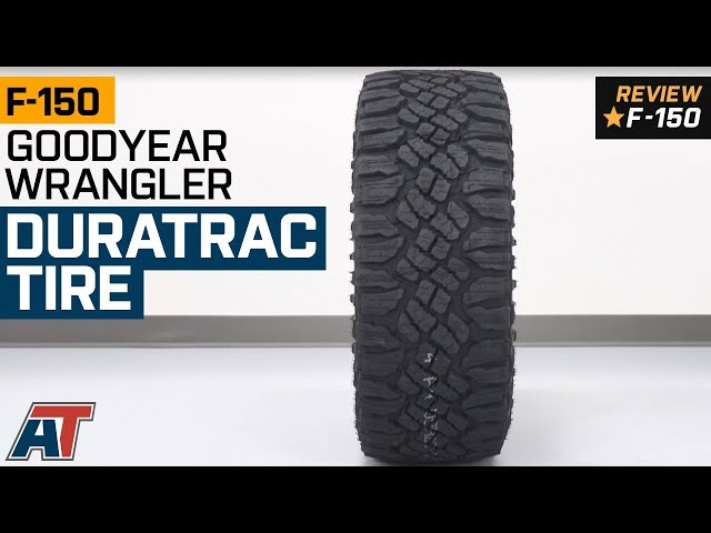 Goodyear Wrangler Duratrac Tire Available From 31 In To 35 In Diameters