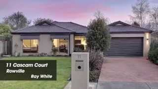 11 Cascam Court, Rowville. Agent: Byron Sweerts 0411 413 666