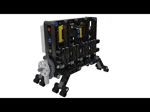 How To Make Lego Technic V8 Pneumatic Engine Lpe Moc With Parts List