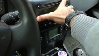 Fiat Stilo. How To Remove Radio Whit One Hand.