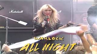 Warlock - All Night 1985