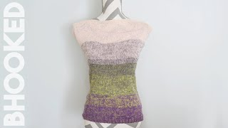 Simple Summer Knit Top Tutorial for Beginners