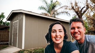 How to build a HUGE shed on a Budget!