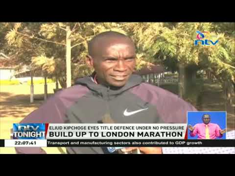 Eliud Kipchoge eyes London marathon title under no pressure