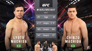 Lyoto Machida Vs Chinzo Machida | EA Sports UFC 3