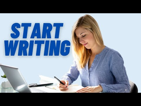 Creative Writing - 5 top tips to get started