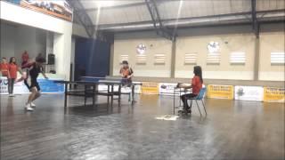 Campeonato Mineiro de tênis de mesa - Paulo vs Aysser