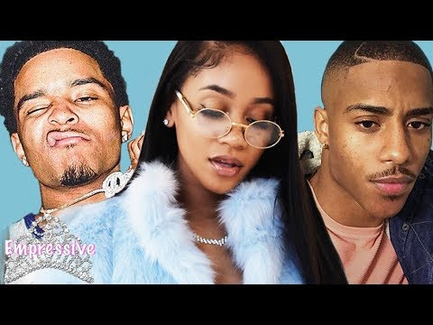Saweetie spills tea on ex-boyfriends Justin Combs and Keith Powers (allegedly)