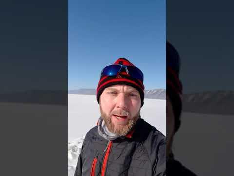 Хочу на ручки Байкальский ледовый марафон