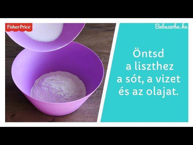 Készíts házi gyurmát!