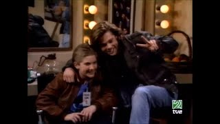 Brad Pitt en Los problemas crecen NOSTALGIA TV! (1987-1989)