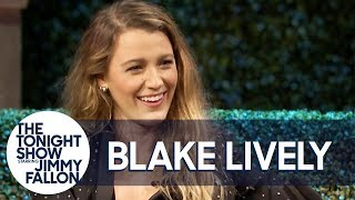 "Blake Lively reveals how an unintentionally scandalous menswear fashion choice at a film premiere led to a misunderstanding about ""tweets,"" and she discusses her twisty Paul Feig comedy-thriller, A Simple Favor.  Subscribe NOW to The Tonight Show Starring Jimmy Fallon: http://bit.ly/1nwT1aN  Watch The Tonight Show Starring Jimmy Fallon Weeknights 11:35/10:35c Get more Jimmy Fallon:  Follow Jimmy: http://Twitter.com/JimmyFallon Like Jimmy: https://Facebook.com/JimmyFallon  Get more The Tonight Show Starring Jimmy Fallon:  Follow The Tonight Show: http://Twitter.com/FallonTonight Like The Tonight Show: https://Facebook.com/FallonTonight The Tonight Show Tumblr: http://fallontonight.tumblr.com/  Get more NBC:  NBC YouTube: http://bit.ly/1dM1qBH Like NBC: http://Facebook.com/NBC Follow NBC: http://Twitter.com/NBC NBC Tumblr: http://nbctv.tumblr.com/ NBC Google+: https://plus.google.com/+NBC/posts  The Tonight Show Starring Jimmy Fallon features hilarious highlights from the show including: comedy sketches, music parodies, celebrity interviews, ridiculous games, and, of course, Jimmy's Thank You Notes and hashtags! You'll also find behind the scenes videos and other great web exclusives.  Blake Lively and Ryan Reynolds' ""Tweets"" Are Amazing http://www.youtube.com/fallontonight  #FallonCentralPark #BlakeLively #JimmyFallon"