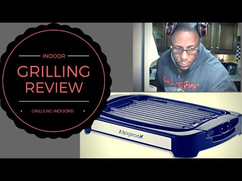 Indoor grilling  review. (Magicook grill)