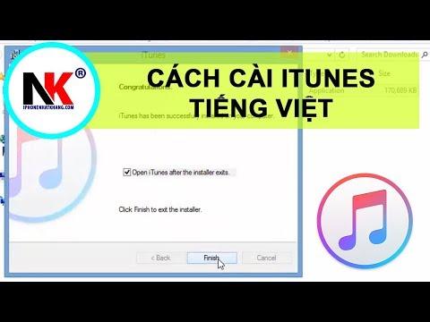 Cài iTunes Tiếng Việt  | Hướng Dẫn Tải Và Cài Đặt iTunes Vô Máy Vi Tính