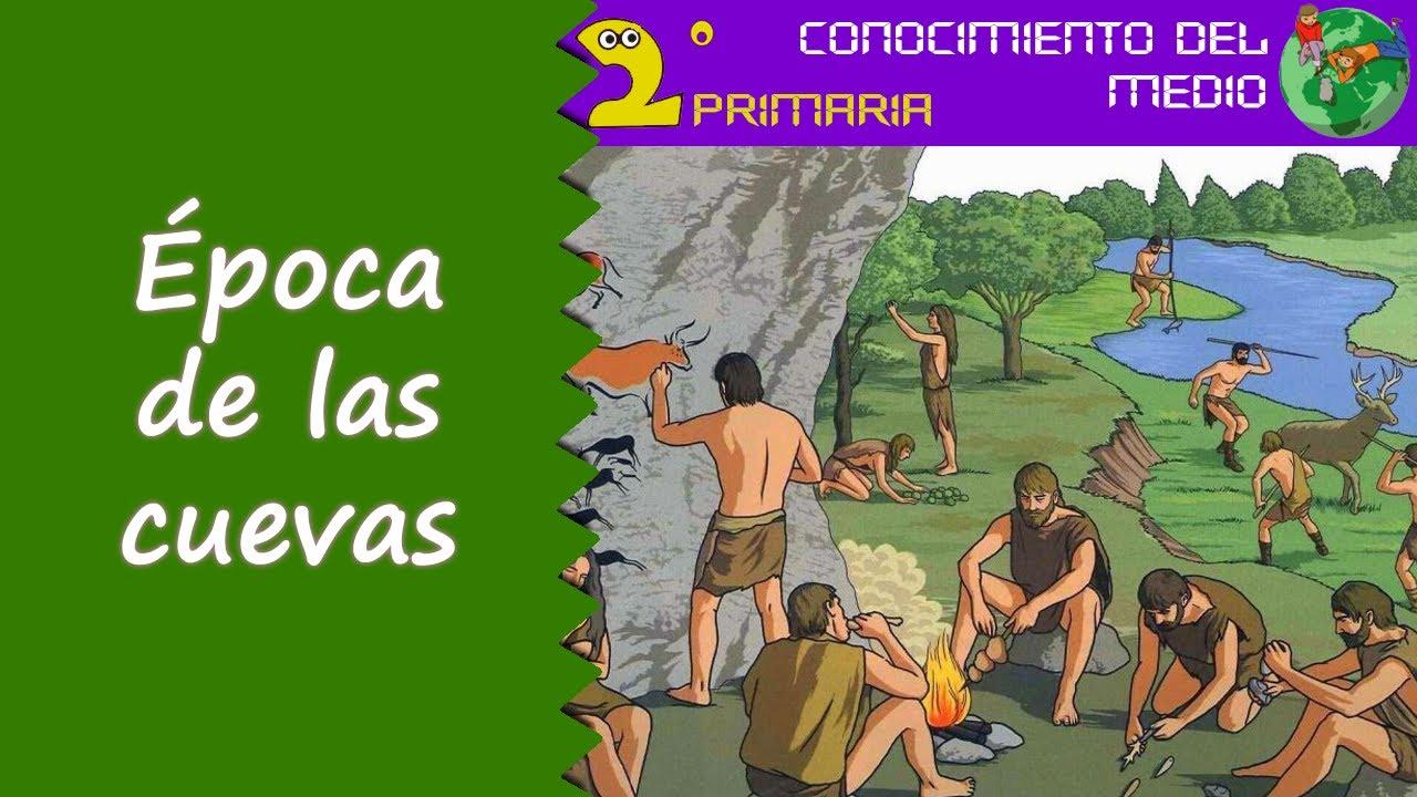 Cono, 2º Primaria. Tema 14. La época de las cuevas