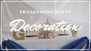 Engagement Party Decorations And DIY
