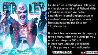 Anuel AA   Por Ley   (Letra Oficial)