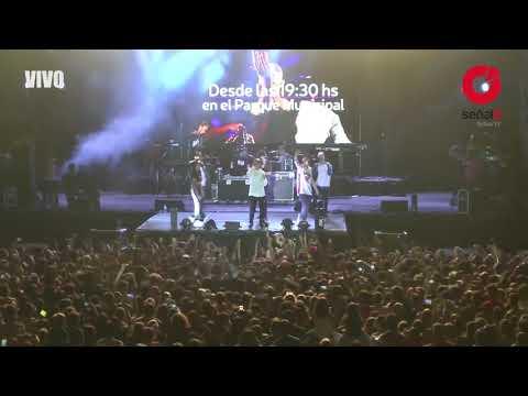 Loca en vivo - Khea ft. Cazzu Duki.