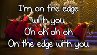 Glee - Edge of Glory (Lyrics)