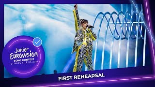Poland 🇵🇱   Viki Gabor   Superhero   First Rehearsal   Junior Eurovision 2019