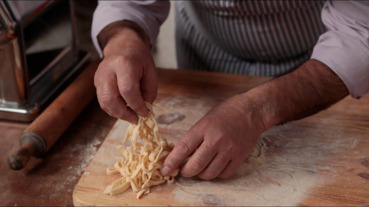 How to make Tagliatelle Pasta