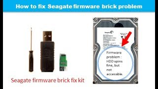 Seagate data recovery repair firmware bug locked bricked busy BSY error not detected in BIOS