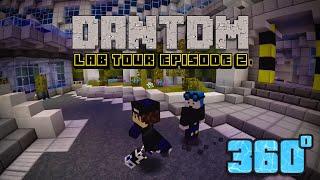 DanTDM New Lab // Minecraft 360 Video // Featuring Dr Trayaurus & Grim