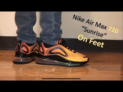 Nike Air Max 720 Sunrise On Feet Review