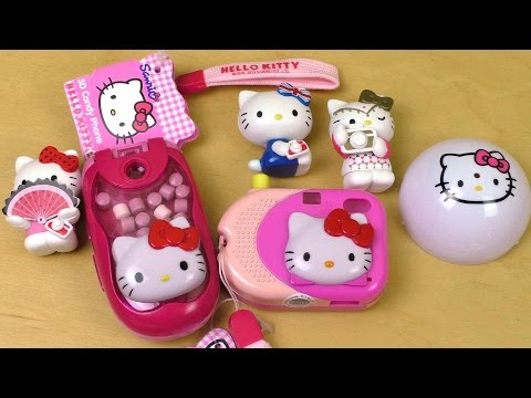 Hello Kitty Candy Camera | Candy Phone | Surprise Ball
