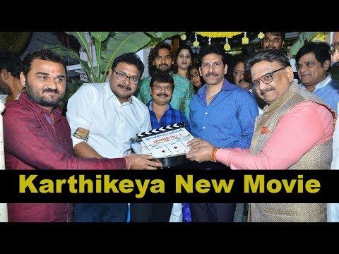 RX 100 Fam Karthikeya New Movie Opening