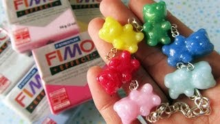 Gemstone FIMO Effect Clay || Before & After + Mini Review
