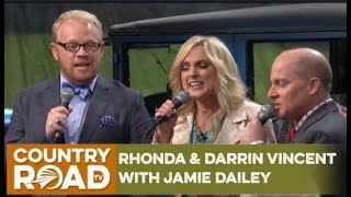 Rhonda & Darrin Vincent with Jamie Dailey on Country's Family Reunion