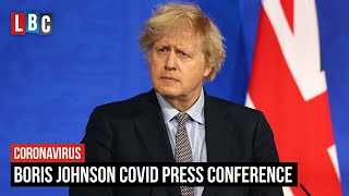 Boris Johnson hosts Covid briefing amid Indian variant fears | Watch LIVE 5:30pm