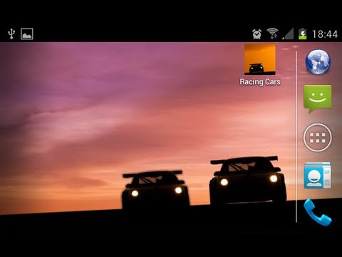 Video of Racing Cars LIVE Wallpaper